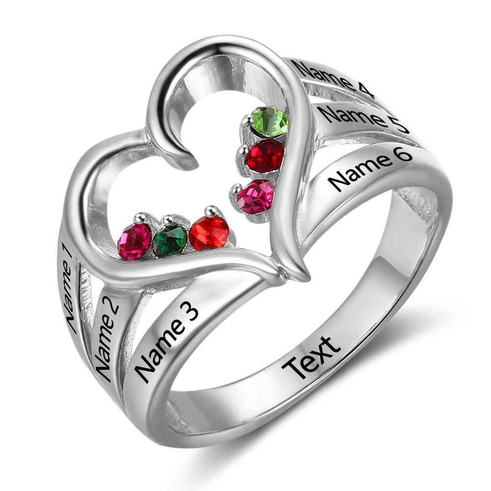 Sterling silver personalized heart ring makjewelz sterling silver personalized heart ring r80000 thecheapjerseys Gallery